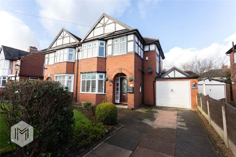 3 Bedrooms Semi Detached House for sale in Lakeside Avenue, Bolton, Greater Manchester, BL3