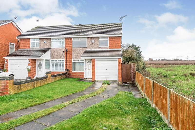 3 Bedrooms Semi Detached House for sale in Ellwood Close, Hale Village, Liverpool, Cheshire, L24