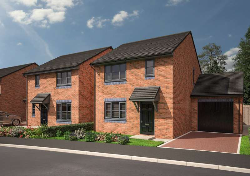 3 Bedrooms Detached House for sale in Plot 24, The Elder, Harrison Close, Bill Quay