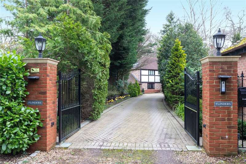 5 Bedrooms Detached House for sale in Mud Lane, Eversley, Hook, Hampshire, RG27