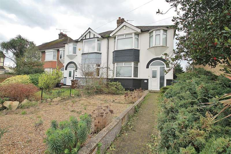 3 Bedrooms Semi Detached House for sale in Rochester Road, Gravesend, DA12 4TY