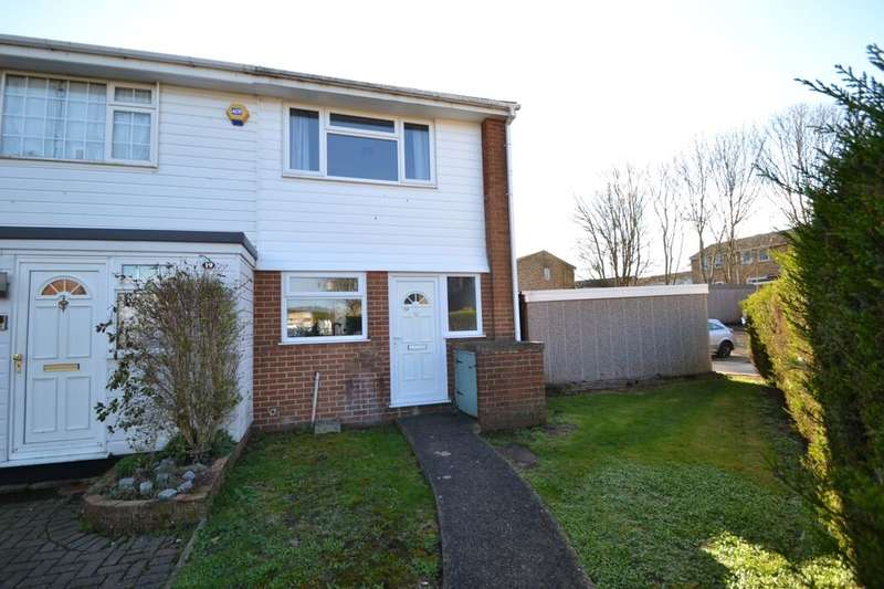 2 Bedrooms Terraced House for sale in Waverley Close, Lordswood, Chatham, ME5