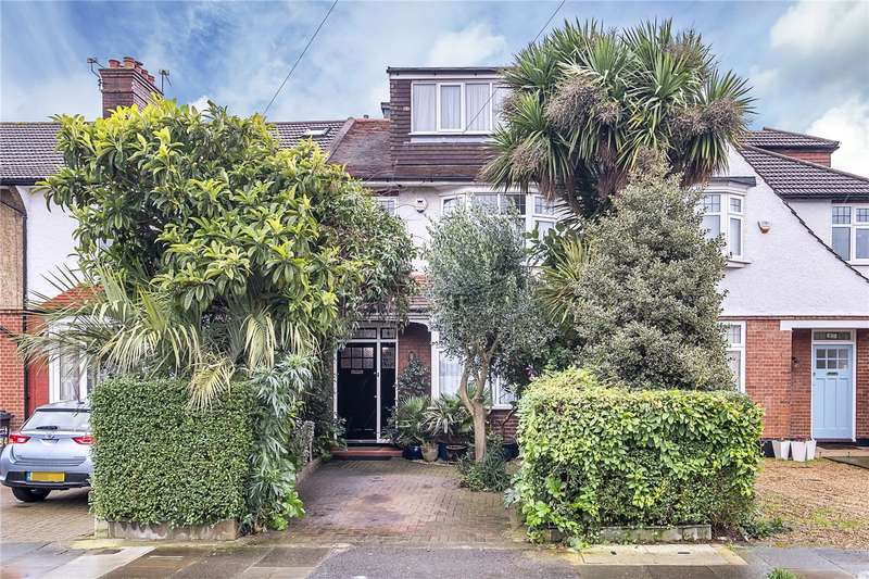 5 Bedrooms Terraced House for sale in Sandbourne Avenue, London, SW19