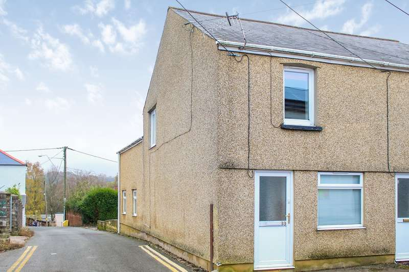 2 Bedrooms End Of Terrace House for sale in High Street, Pontypool, NP4