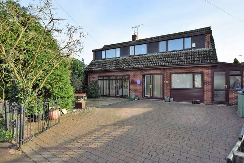 3 Bedrooms Detached House for sale in Leicester Road, Sapcote LE9