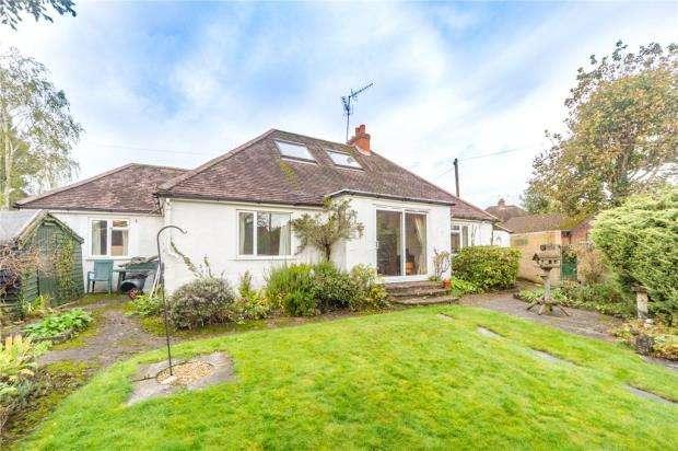 3 Bedrooms Detached Bungalow for sale in Weybourne Road, Farnham, Surrey