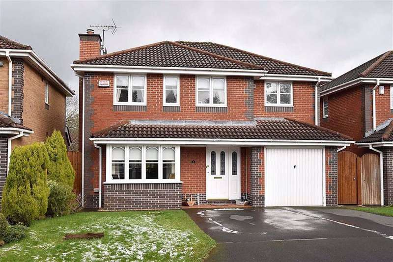 4 Bedrooms Detached House for sale in Forge Close, Macclesfield