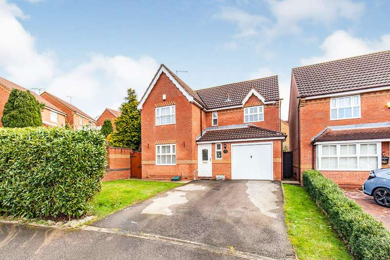 4 Bedrooms Detached House for sale in Sudbury Drive, Huthwaite, Sutton-in-Ashfield, Nottinghamshire, NG17