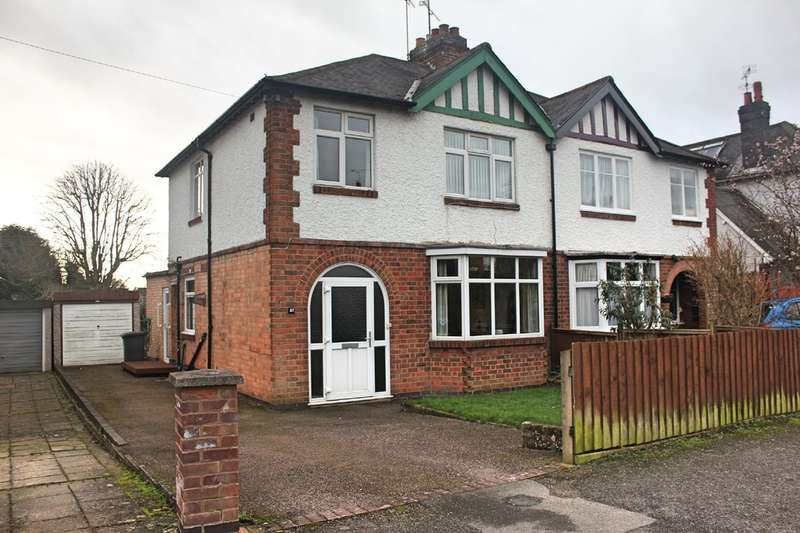 3 Bedrooms Semi Detached House for sale in Carisbrooke Road, Knighton, Leicester