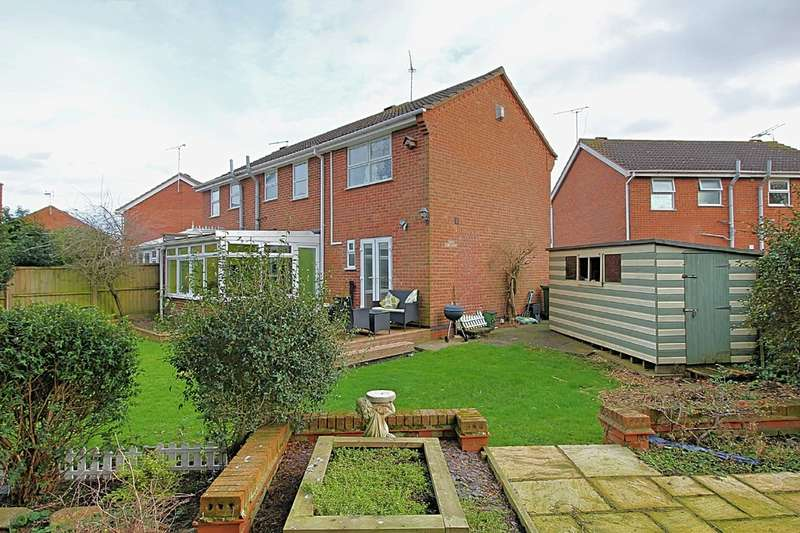 4 Bedrooms Semi Detached House for sale in Newby Close, Whetstone