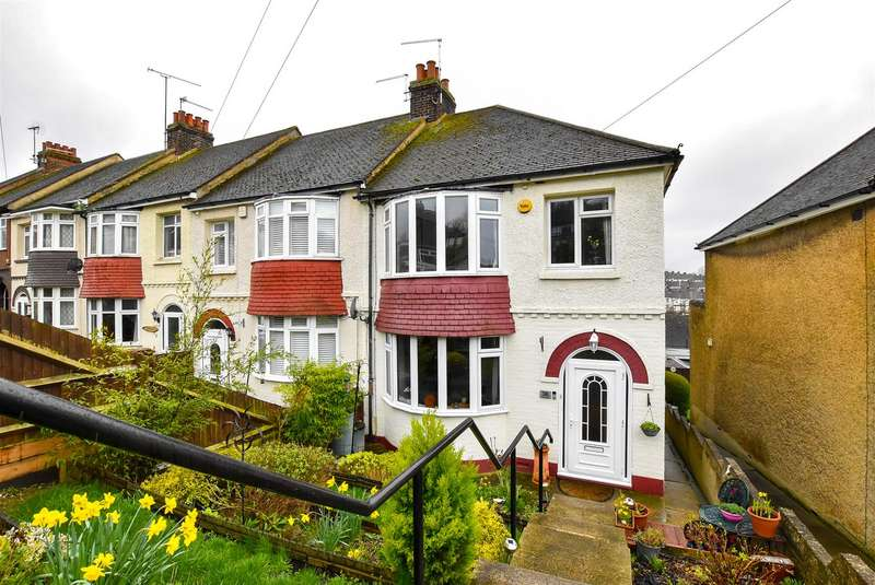 3 Bedrooms End Of Terrace House for sale in Howard Avenue, Rochester