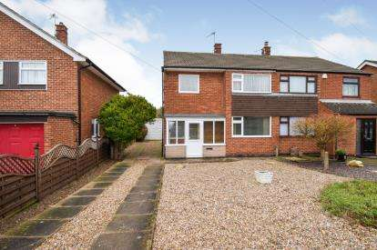 3 Bedrooms Semi Detached House for sale in Allington Drive, Birstall, Leicester, Leicestershire