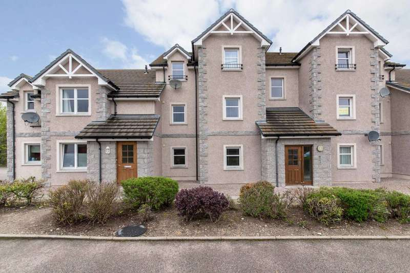 2 Bedrooms Flat for sale in Bridge Road, Kemnay, Inverurie, Aberdeenshire, AB51 5QT