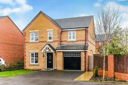 4 Bedrooms Detached House for sale in Waterhouses Street, Audenshaw, Manchester, Greater Manchester