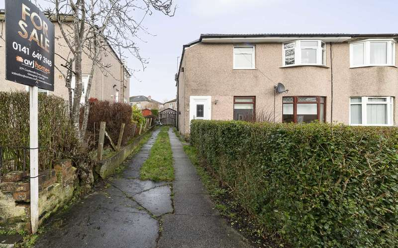 2 Bedrooms Flat for sale in Highcroft Avenue, Croftfoot