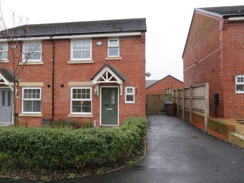 3 Bedrooms Semi Detached House for sale in Willhill Close, Burnedge