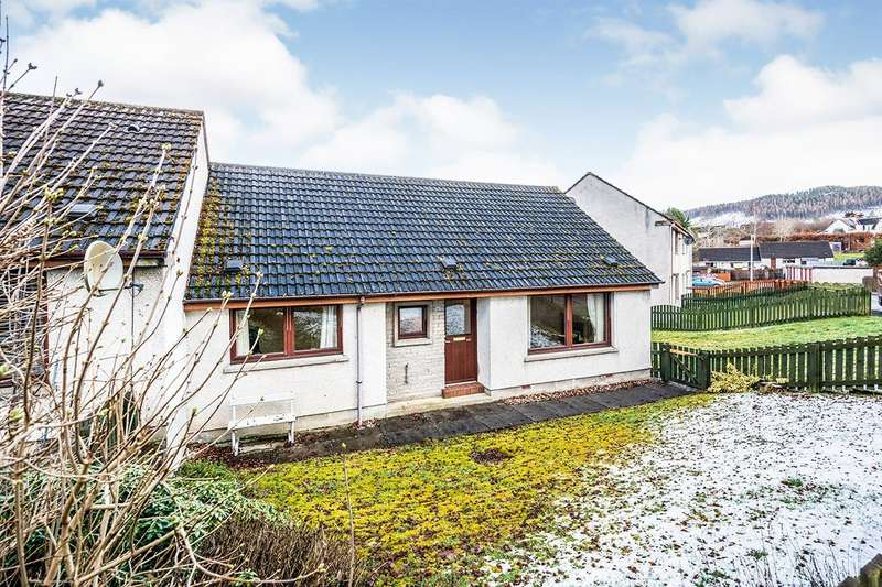 2 Bedrooms Semi Detached Bungalow for sale in Ord Terrace, Strathpeffer, IV14