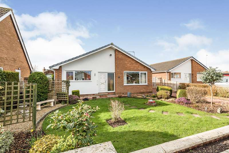 2 Bedrooms Detached Bungalow for sale in Chester Close, Garstang, Preston, PR3