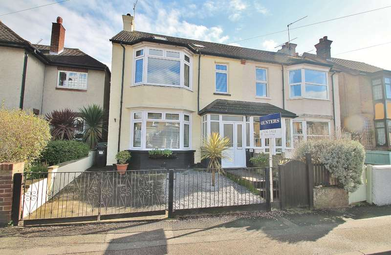 4 Bedrooms Semi Detached House for sale in Singlewell Road , Gravesend , DA11 7PW