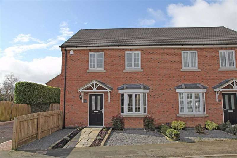 4 Bedrooms Semi Detached House for sale in Weir Road, Kibworth Beauchamp, Leicestershire