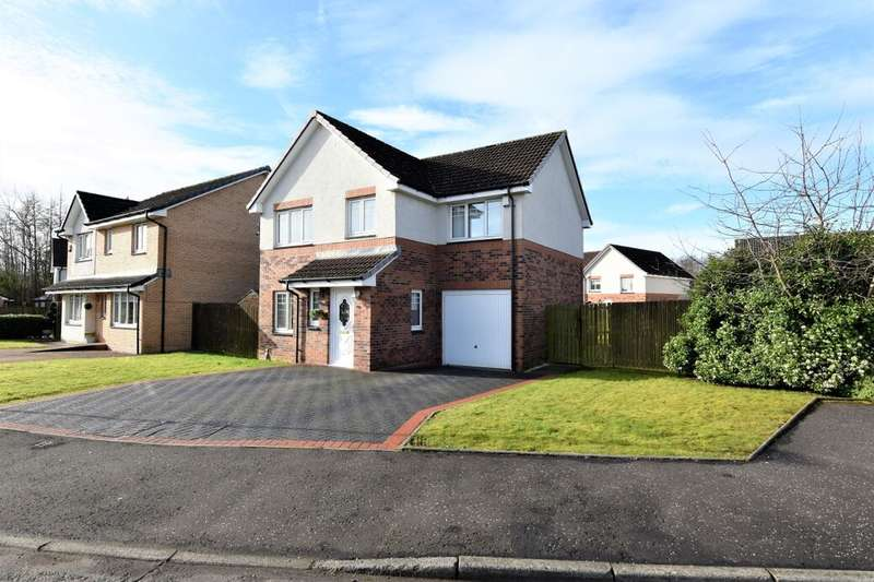 4 Bedrooms Detached House for sale in Dalmore Crescent, Carfin, Motherwell, ML1