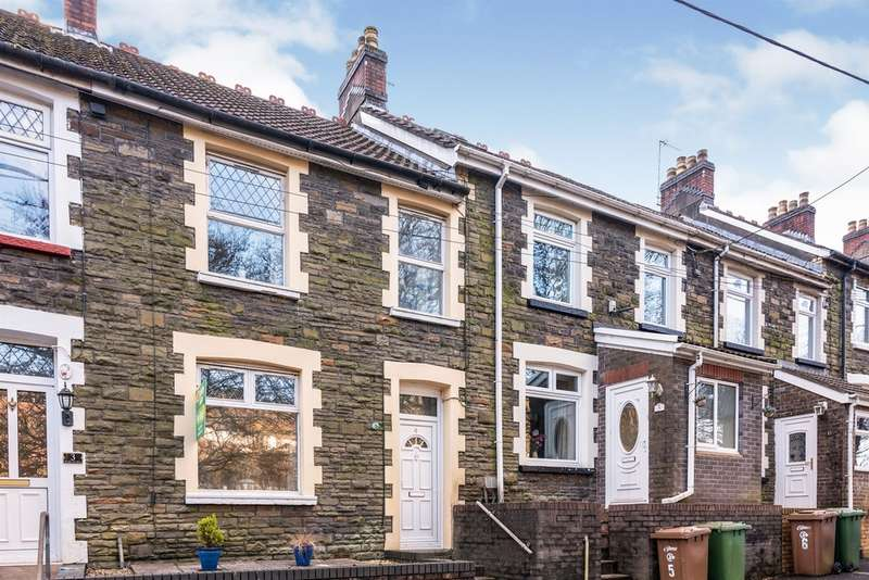 3 Bedrooms Terraced House for sale in East View, Brithdir, New Tredegar