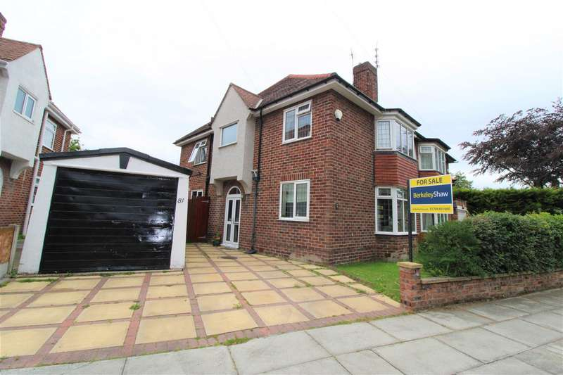 3 Bedrooms Semi Detached House for sale in Moor Drive, Crosby, Liverpool