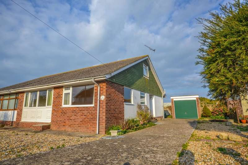 2 Bedrooms Semi Detached Bungalow for sale in Poplar Close, Bembridge