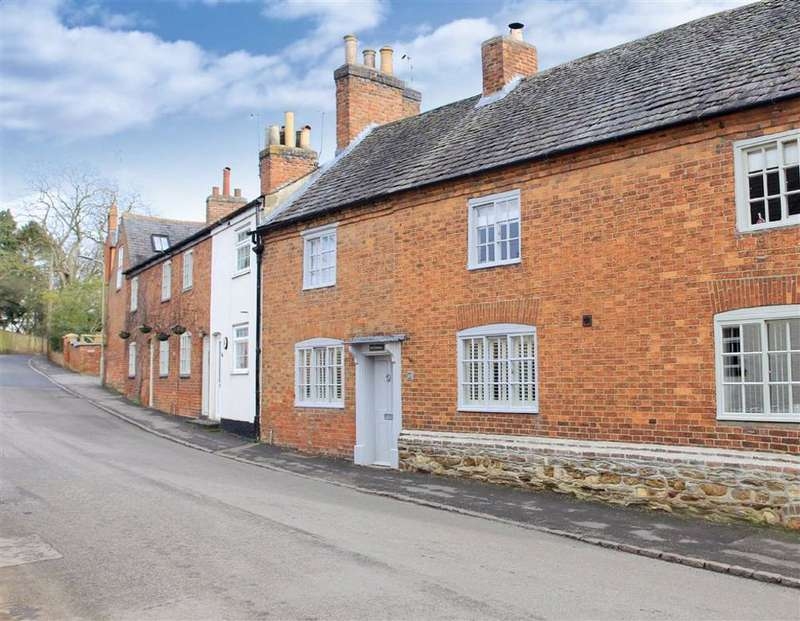 3 Bedrooms Terraced House for sale in Main Street, Smeeton Westerby, Leicestershire