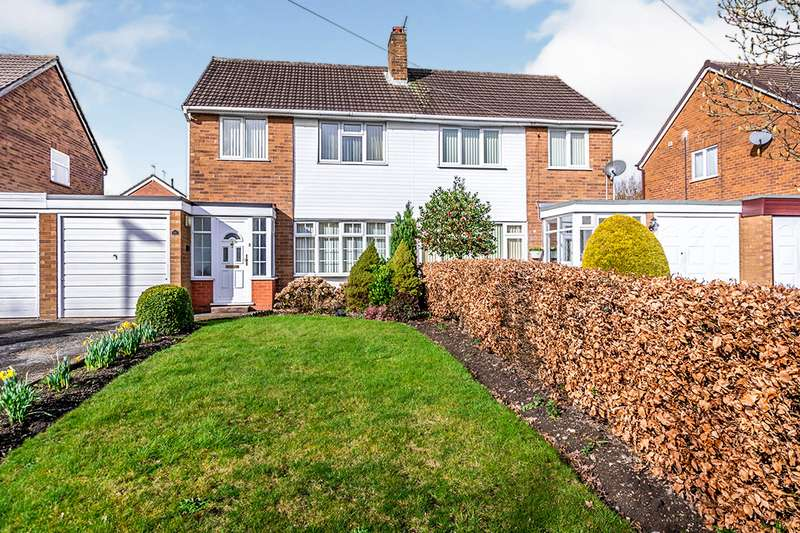 3 Bedrooms Semi Detached House for sale in Broad Lane North, Willenhall, West Midlands, WV12