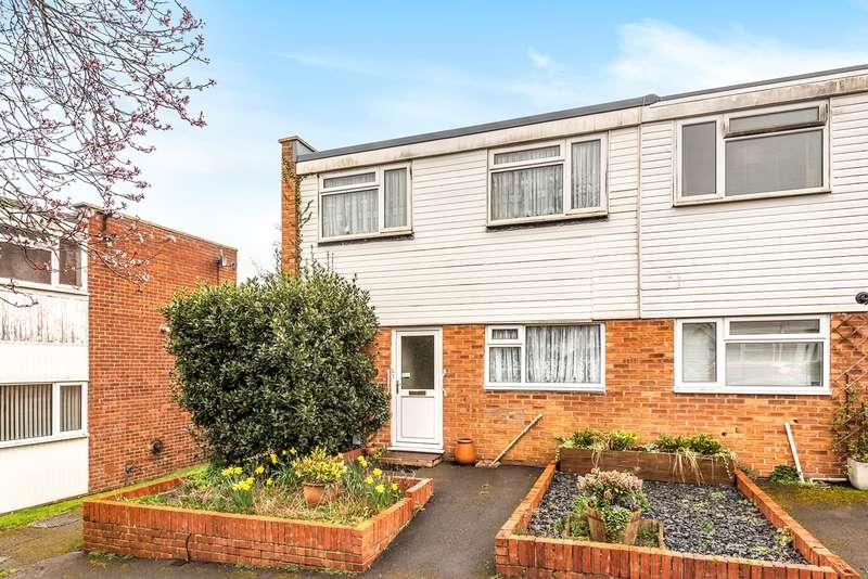 2 Bedrooms Semi Detached House for sale in Irwell Close, Riverdene, Basingstoke, RG21