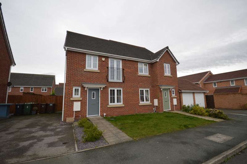 3 Bedrooms Semi Detached House for sale in Sparks Croft, Wirral
