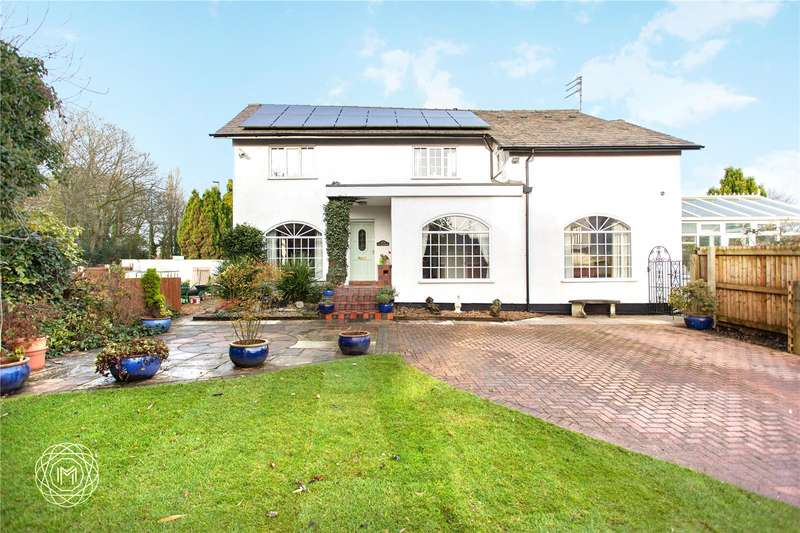 4 Bedrooms Detached House for sale in Mosley Common Road, Worsley, Manchester, Greater Manchester, M28