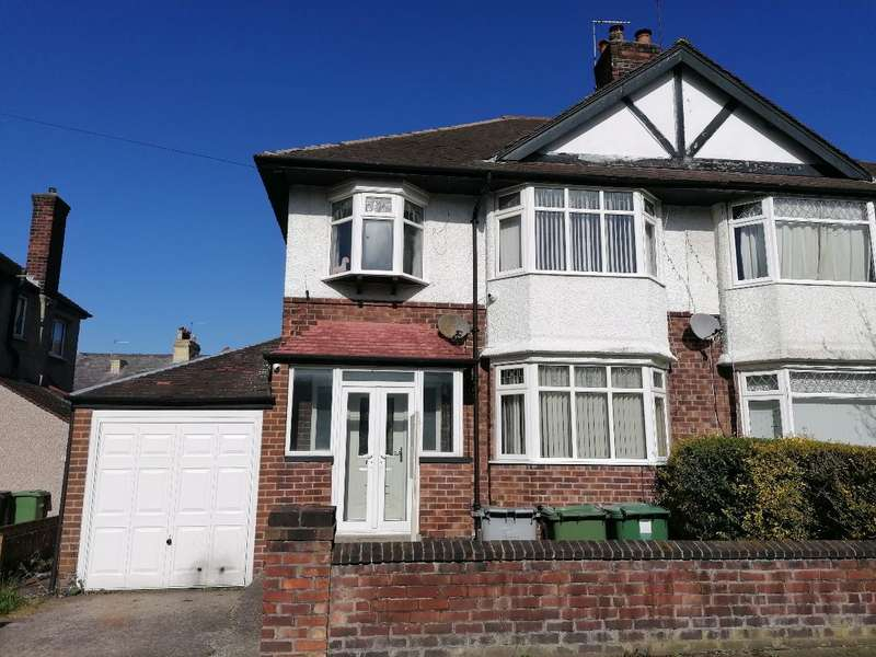3 Bedrooms Semi Detached House for sale in Vyner Road, Wallasey