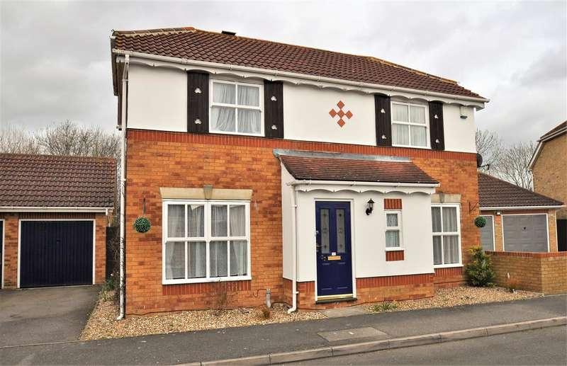 3 Bedrooms Detached House for sale in Chestnut Lane, Park Farm, Ashford, Kent, TN23 3LR