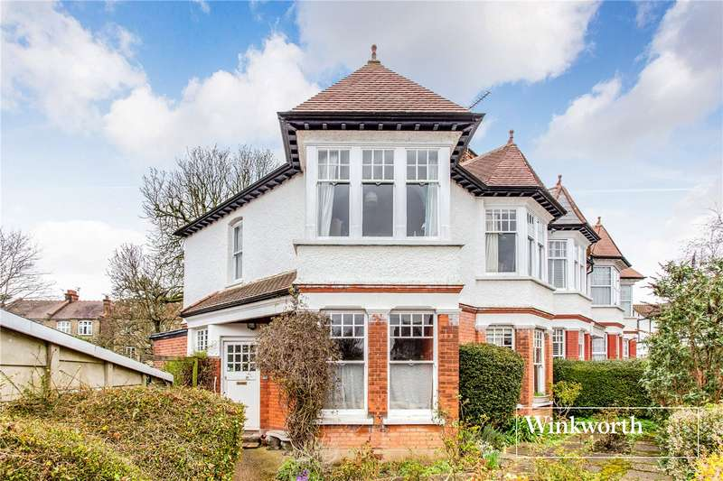 3 Bedrooms End Of Terrace House for sale in Queens Avenue, Finchley, London, N3