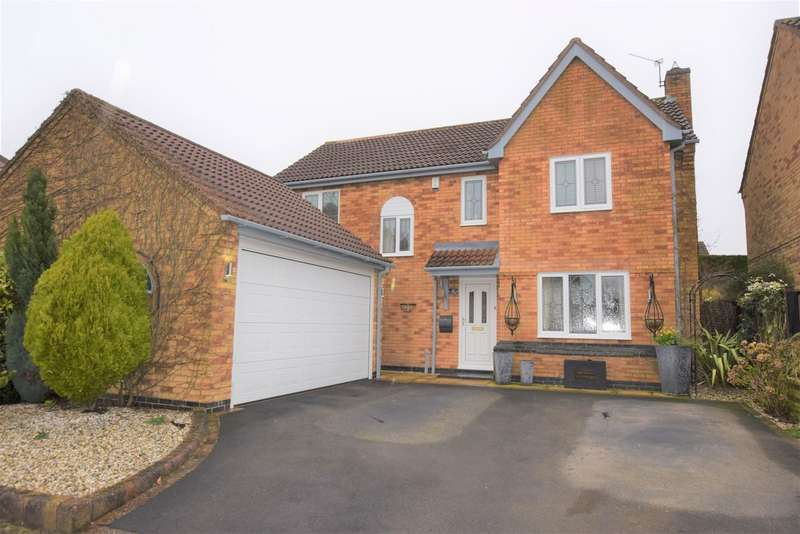 4 Bedrooms Detached House for sale in Surrey Close , Burbage LE10