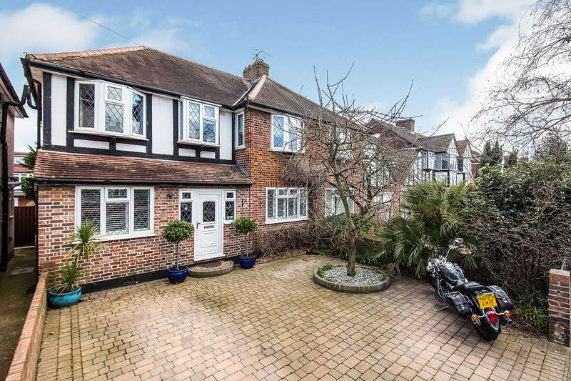 5 Bedrooms Semi Detached House for sale in Cypress Avenue, Whitton, Twickenham, TW2