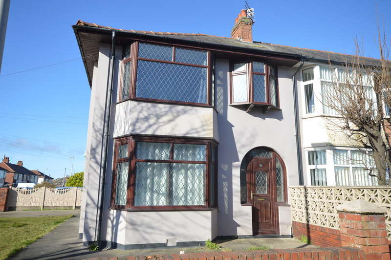 3 Bedrooms End Of Terrace House for sale in Eastbourne Road, Blackpool, FY4