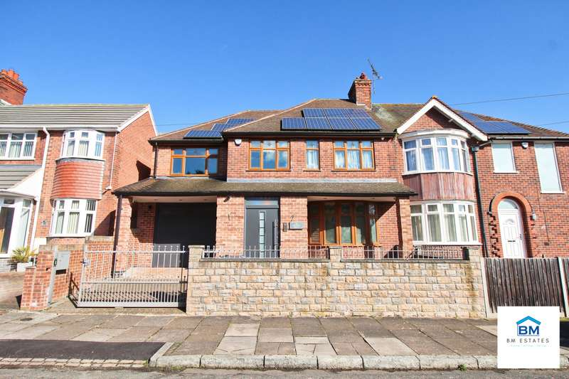 5 Bedrooms Semi Detached House for sale in Midway Road, Leicester, LE5