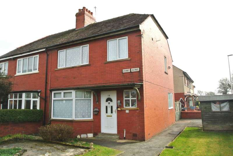 3 Bedrooms Semi Detached House for sale in Granby Avenue, Blackpool, FY3 7HU