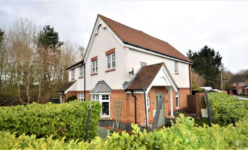 3 Bedrooms Semi Detached House for sale in Quob Farm Close, West End, Southampton, SO30