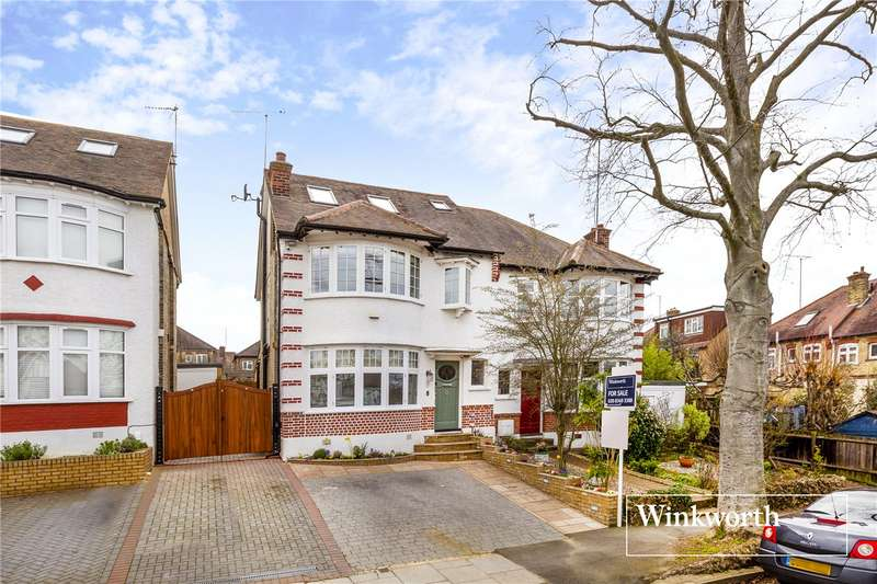 4 Bedrooms Semi Detached House for sale in Fursby Avenue, Finchley, London, N3