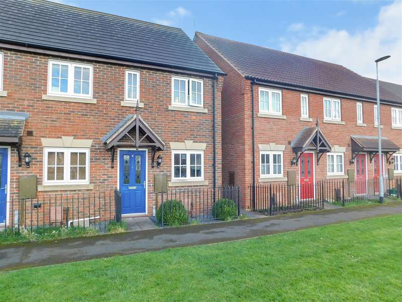 2 Bedrooms End Of Terrace House for sale in Harvest Way, Skegness, PE25 2NZ