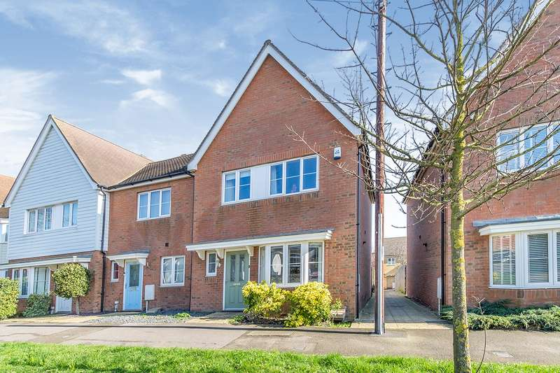 3 Bedrooms End Of Terrace House for sale in Bells Lane, Hoo, Rochester, Kent, ME3