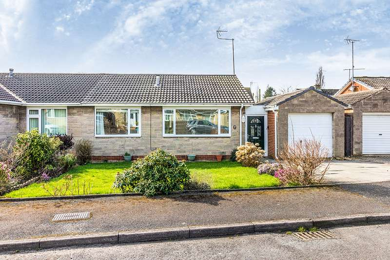 2 Bedrooms Semi Detached Bungalow for sale in Rose Court, Wickersley, Rotherham, South Yorkshire, S66