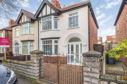 3 Bedrooms Semi Detached House for sale in Rosebery Avenue, Brighton-le-Sands, Waterloo, Merseyside, L22