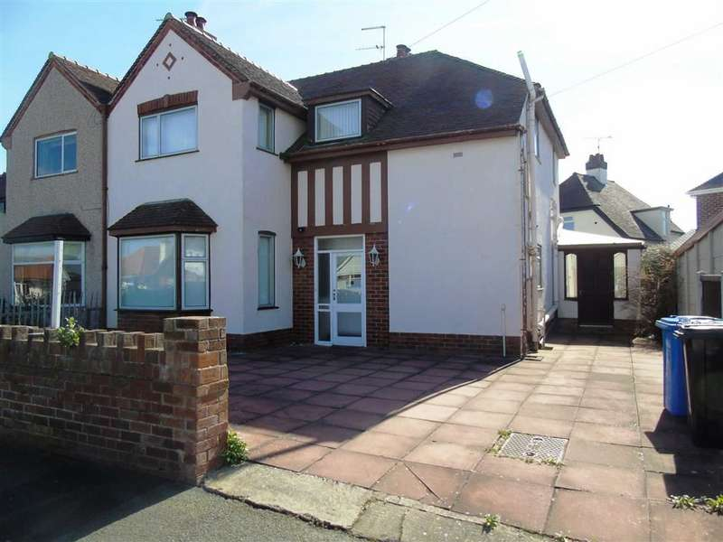 3 Bedrooms Semi Detached House for sale in Rosehill Road, Rhyl, Denbighshire