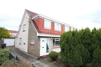 3 Bedrooms Semi Detached House for sale in Dairsie Gardens, Bishopbriggs