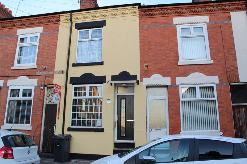 4 Bedrooms Terraced House for sale in Chatsworth Street, Highfields, Leicester